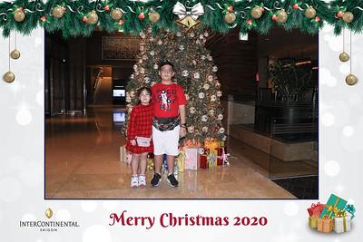 Dịch vụ in ảnh lấy liền & cho thuê photobooth tại sự kiện tiệc giáng sinh của Intercontinential   Instant Print Photobooth Vietnam at Intercontinential Christmas