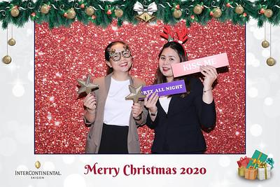 Dịch vụ in ảnh lấy liền & cho thuê photobooth tại sự kiện tiệc giáng sinh của Intercontinential | Instant Print Photobooth Vietnam at Intercontinential Christmas