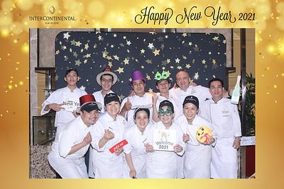 Dịch vụ in ảnh lấy liền & cho thuê photobooth tại sự kiện Tiệc mừng năm mới của khách sạn Intercontinential | Instant Print Photobooth Vietnam at ntercontinential New Year's Eve Party