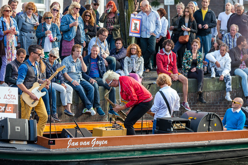 Blood Sweat & Kiers - Jazz in de Gracht