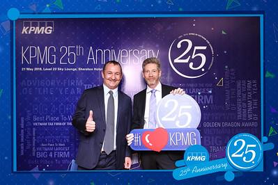 Dịch vụ in ảnh lấy liền & cho thuê photobooth tại sự kiện kỷ niệm 25 năm thành lập công ty KPMG | Instant Print Photobooth Vietnam at KPMG's 25th Birthday