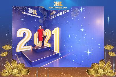 Dịch vụ in ảnh lấy liền & cho thuê photobooth tại sự kiện Tiệc tất niên Công ty Khải Hoàn Land | Instant Print Photobooth Vietnam at Khai Hoan Land Year End Party
