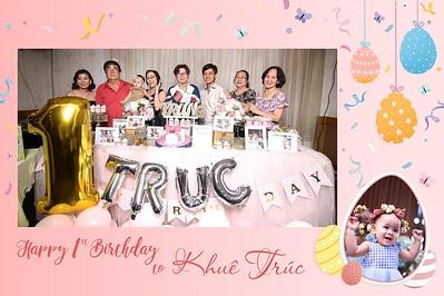 Dịch vụ in ảnh lấy liền & cho thuê photobooth tại  sự kiện tiệc thôi nôi bé Khuê Trúc    Instant Print Photobooth Vietnam at Khue Truc's 1st Birthday Party