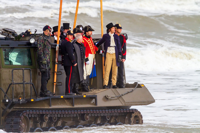 Landing Prins van Oranje - 200 year anniversary.