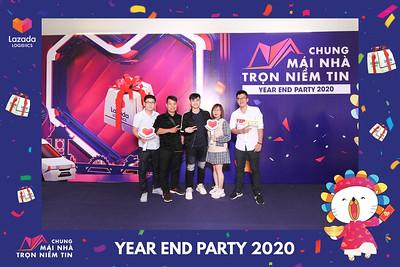 Dịch vụ in ảnh lấy liền & cho thuê photobooth tại sự kiện Tiệc tất niên công ty Lazada | Instant Print Photobooth Vietnam at Lazada Year End Party