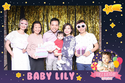 Chụp ảnh lấy liền và in hình lấy liền từ photobooth/photo booth tại tiệc sinh nhật 1 tuổi bé Lily | Instant Print Photobooth/Photo Booth at Lily's 1st Birthday | PRINTAPHY - PHOTO BOOTH VIETNAM