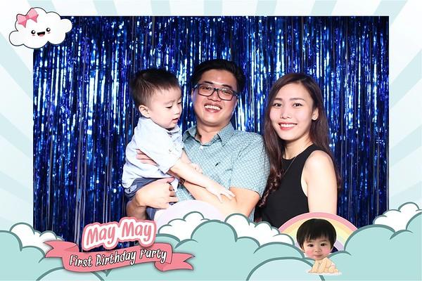 Chụp ảnh lấy liền và in hình lấy liền từ photobooth tại sự kiện sinh nhật thôi nôi của bé Mây | Instant Print Photobooth at Mây's 1-year Birthday party | PRINTAPHY - PHOTO BOOTH VIETNAM