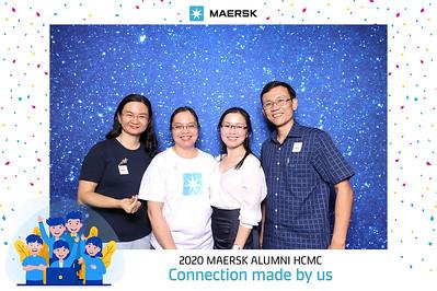 Dịch vụ in ảnh lấy liền & cho thuê photobooth tại sự kiện tiệc tri ân alumni của công ty Maersk | Instant Print Photobooth Vietnam at Maersk Alumni Party