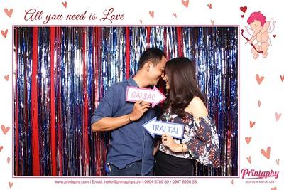 Chụp ảnh lấy liền và in hình lấy liền từ photobooth tại sự kiện Marry Wedding Day | PRINTAPHY - PHOTO BOOTH VIETNAM
