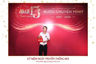 Dịch vụ in ảnh lấy liền & cho thuê photobooth tại Tiệc kỷ niệm 13 năm thành lập công ty Mi2 | Instant Print Photobooth Vietnam at Mi2's 13th Anniversary