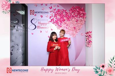 Dịch vụ in ảnh lấy liền & cho thuê photobooth tại sự kiện Mừng ngày Quốc tế Phụ nữ của công ty Newtecons   Instant Print Photobooth Vietnam at Newtecons Women's Day Celebration
