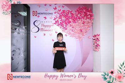 Dịch vụ in ảnh lấy liền & cho thuê photobooth tại sự kiện Mừng ngày Quốc tế Phụ nữ của công ty Newtecons | Instant Print Photobooth Vietnam at Newtecons Women's Day Celebration