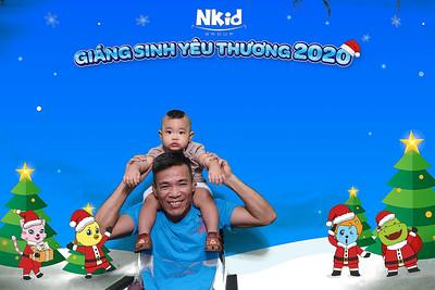 Dịch vụ in ảnh lấy liền & cho thuê photobooth tại sự kiện tiệc giáng sinh của Nkid Maison Chance | Instant Print Photobooth Vietnam at Nkid Maison Chance Christmas