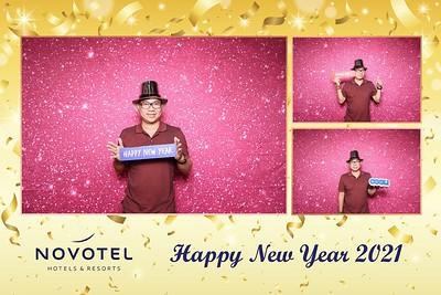 Dịch vụ in ảnh lấy liền & cho thuê photobooth tại sự kiện Tiệc mừng năm mới của khách sạn Novotel | Instant Print Photobooth Vietnam at Novotel New Year's Eve Party