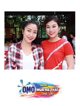 Chụp ảnh lấy liền và in hình lấy liền từ photobooth/photo booth tại sự kiện Họp báo chương trình Mang mùa hè trở lại của nhãn hàng OMO | Instant Print Photobooth/Photo Booth at OMO Press Conference | PRINTAPHY - PHOTO BOOTH VIETNAM