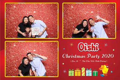 Dịch vụ in ảnh lấy liền & cho thuê photobooth tại sự kiện tiệc giáng sinh của công ty Oishi | Instant Print Photobooth Vietnam at Oishi Christmas Party