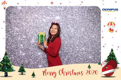 Dịch vụ in ảnh lấy liền & cho thuê photobooth tại sự kiện Tiệc Giáng sinh của công ty Olympus | Instant Print Photobooth Vietnam at Olympus Christmas Party