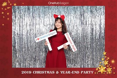 Dịch vụ in ảnh lấy liền & cho thuê photobooth tại sự kiện tiệc noel giáng sinh công ty Onehub | Instant Print Photobooth Vietnam at Onehub Christmas Party