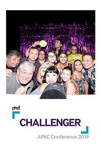 Dịch vụ in ảnh lấy liền & cho thuê photobooth tại PHD Challenge | Instant Print Photobooth Vietnam at PHD Challenge