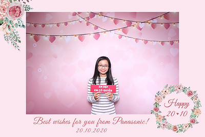 Dịch vụ in ảnh lấy liền & cho thuê photobooth tại sự kiện Mừng ngày Quốc tế Phụ nữ của công ty Panasonic | Instant Print Photobooth Vietnam at Panasonic Women's Day