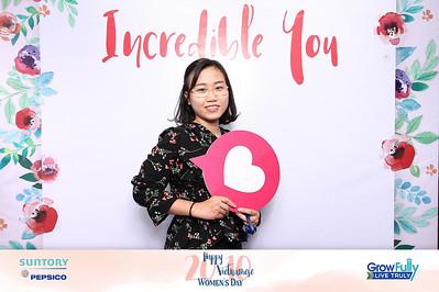 Dịch vụ in ảnh lấy liền & cho thuê photobooth tại sự kiện tiệc mừng ngày phụ nữ Việt Nam 20/10| Instant Print Photobooth Vietnam at Pepsico Women's Day