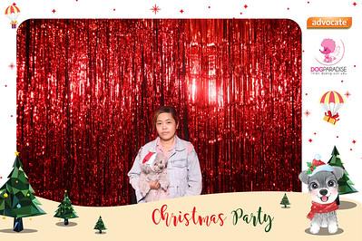 Dịch vụ in ảnh lấy liền & cho thuê photobooth tại sự kiện tiệc giáng sinh tại tiệm Petshop Dog Paradise | Instant Print Photobooth Vietnam at Petshop Dog Paradise Christmas Celebration