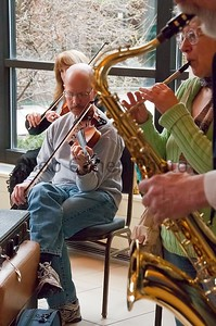Fiddle and Sax_©2012RCohen