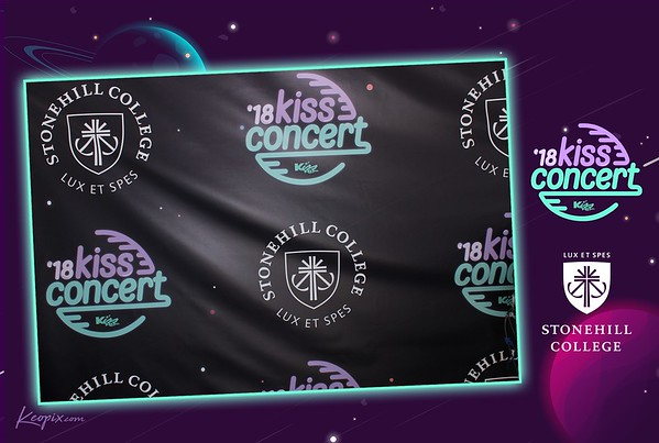 Prints - Kiss108 & Stonehill College