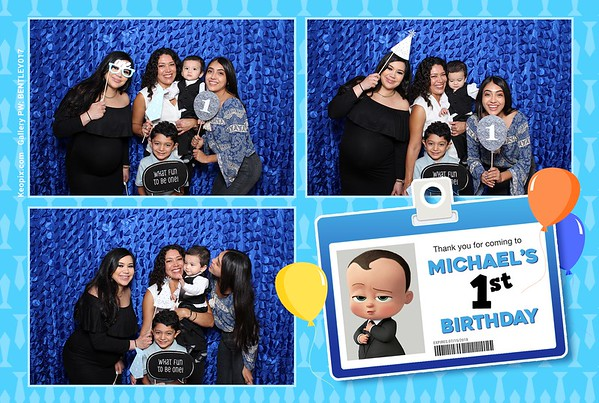 Prints - Michael's 1st Birthday Party