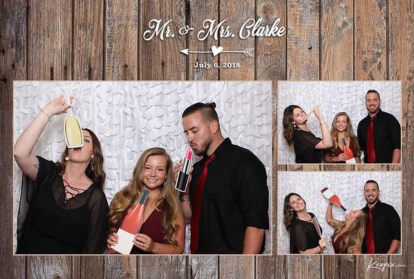Prints - Clarke Wedding