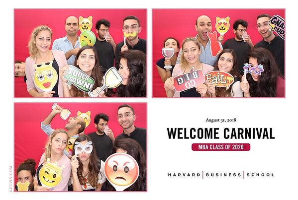 8.31.2018 - Harvard Business School Class of 2020 Welcome Carnival