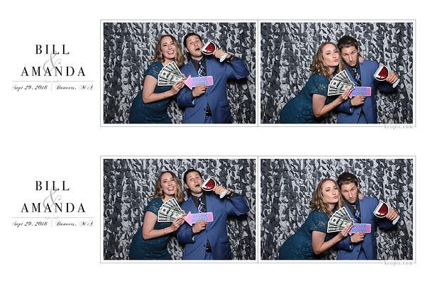 PRINTS - Bill & Amanda's Wedding