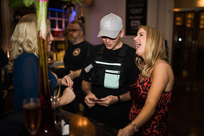 Photography of Magician at Warrington party