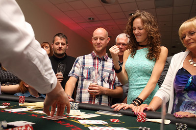 Casino party photography