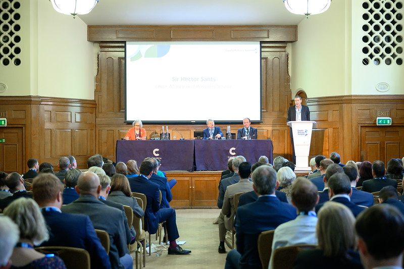 Event photo of the Equity Release Summit 2020 at Church House, Westminser by London Photographer, Simon Callaghan Photography