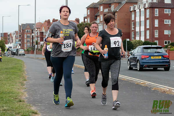 Competitors in the St. Anne's Carnival 5k 2017.