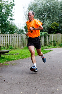 Participants and volunteers in the 28th Blackpool Parkrun.