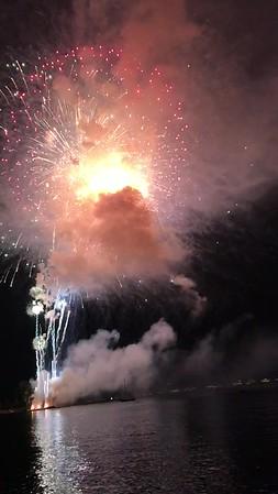 Boyne City Fireworks Finale