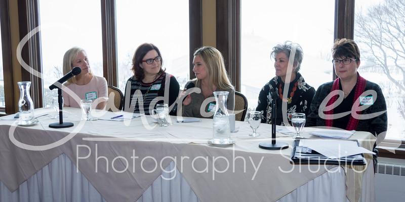 Connecting Women in Business February, Perry Hotel<br /> <br /> This luncheon featured an amazing panel discussion with women entrepreneurs from the area.  Heard their stories about starting and/or running their own businesses. Participants included:  Anne Kirvan of Anne Kirvan Performance Coaching, Robin Bennett of Sunglass Shoppe, Brittany Brubaker of North Perk Coffee, Jackie Garrett of Vilah Bloom and Jennifer Shorter of Grandpa Shorter's Gifts.