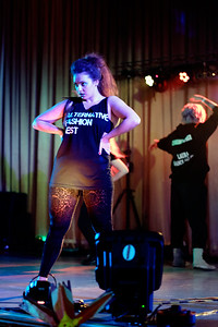 Alternative Fashion Fest at the 2016 North East Wales Diversity Festival