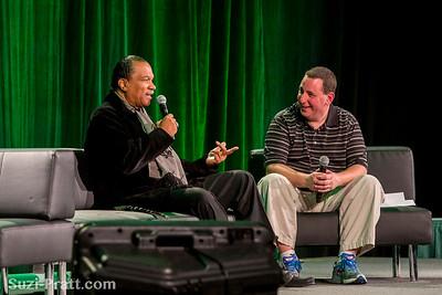 Billy Dee Williams @ Emerald City ComiCon 2013 in Seattle, WA