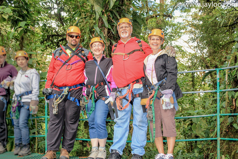 Group Photo - Canopy Tour Zip Lines