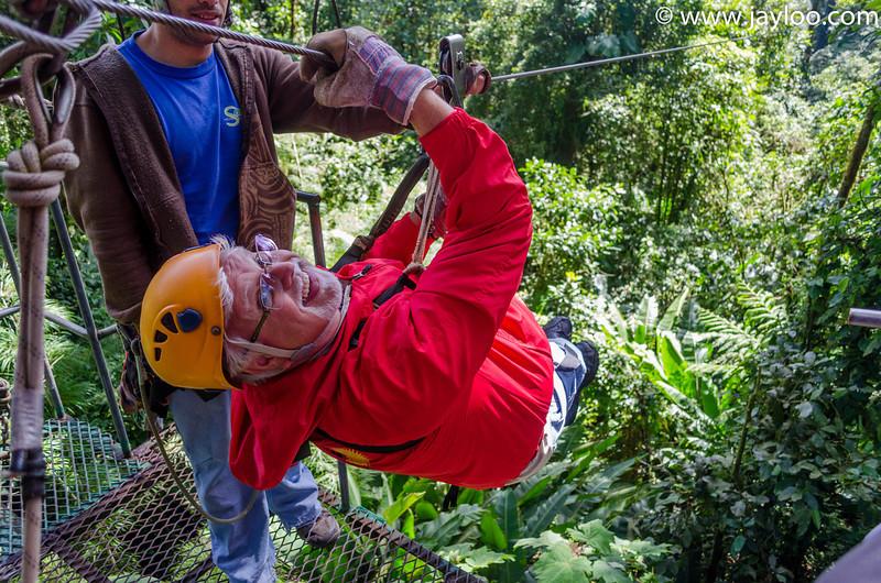 Bill PreTakeoff  - Canopy Tour Zip Lines