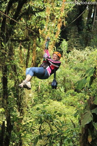 Barb - Canopy Tour Zip Lines