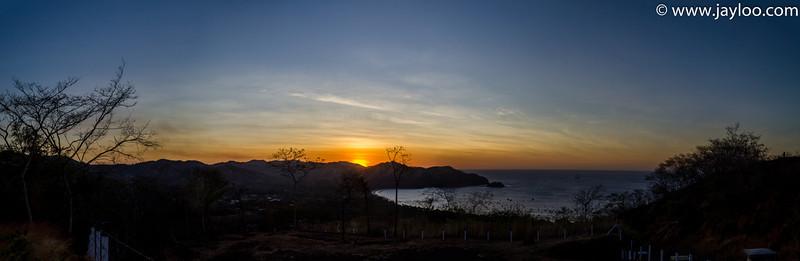 Coco Beach Sunset in Costa Rica