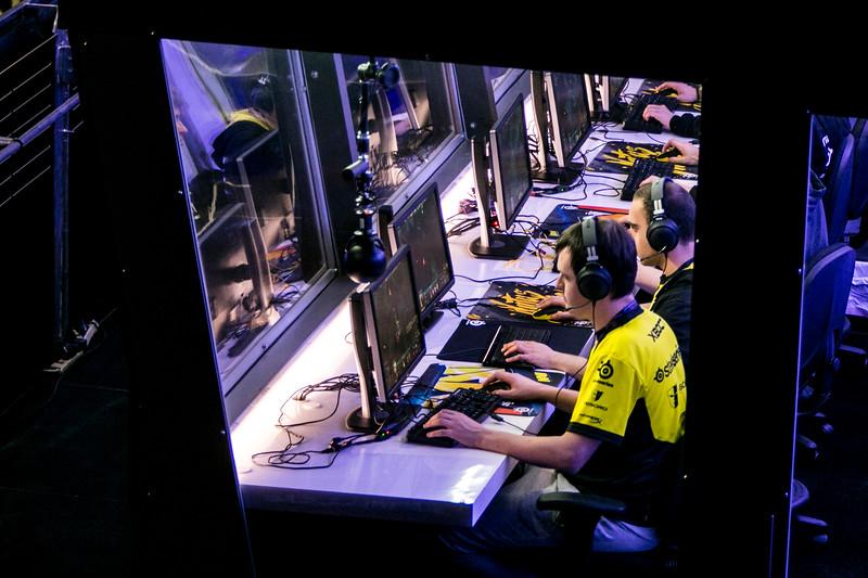 The International DOTA 2 Championships at KeyArena in Seattle