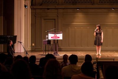 Mara Wilson at Town Hall in Seattle, Washington