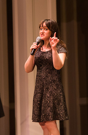 Mara Wilson at Town Hall in Seattle, Washington