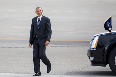 President Barack Obama in Seattle