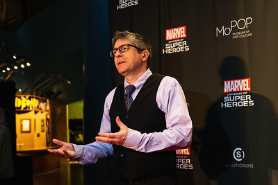 "Museum Of Pop Culture Hosts ""Marvel: Universe Of Super Heroes"" Opening Ceremony"